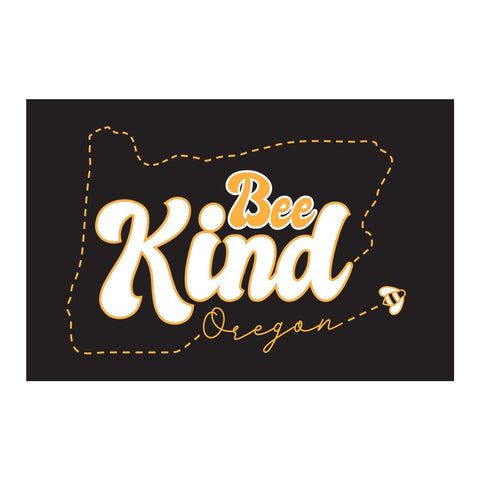 Oregon Bee Kind | Refrigerator Magnet