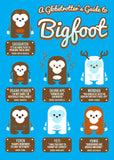 A Globetrotter's Guide to Bigfoot t-shirt