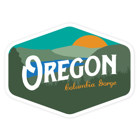 Oregon Columbia Gorge Vintage | Sticker