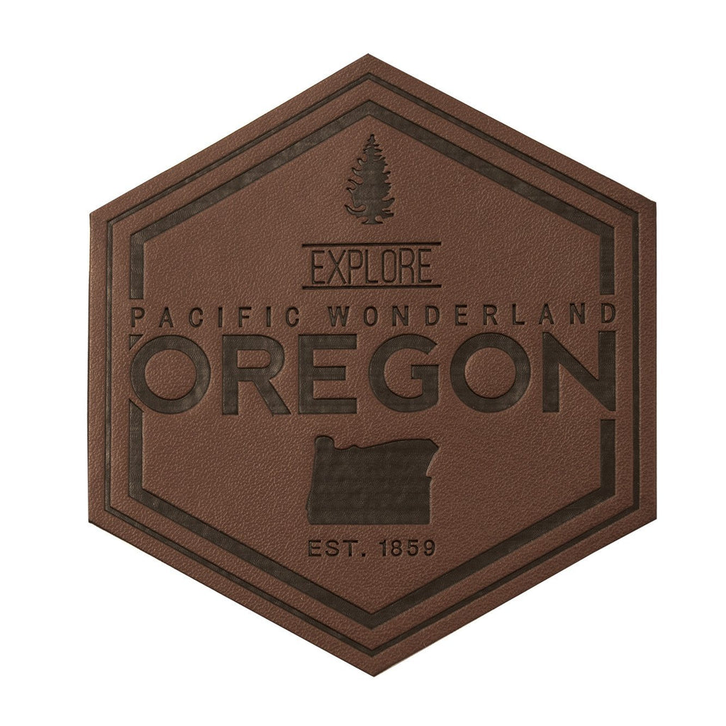 Explore Pacific Wonderland Oregon | PU Leather Patch