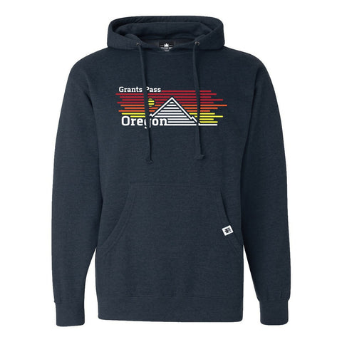 Grants Pass Oregon Horizons | Unisex Pullover Hoodie