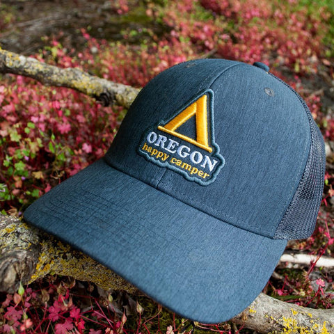 Happy Camper Oregon | Trucker Hat