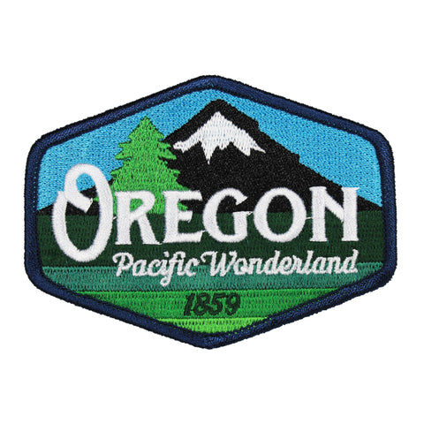 Oregon Pacific Wonderland Vintage | Embroidered Patch