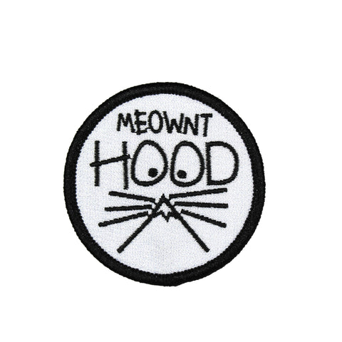 Meownt Hood Oregon | Embroidered Patch
