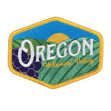 Oregon Willamette Valley Vintage | Embroidered Patch