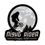 Night Rider Oregon | Sticker