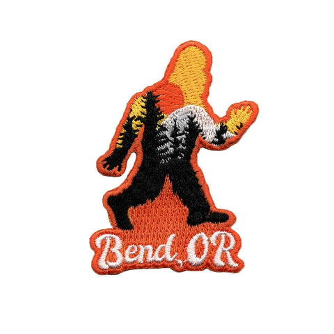 Bend Squatch | Embroidered Patch