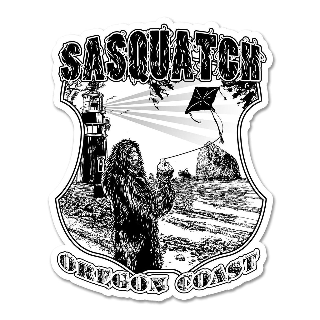 Oregon Sasquatch Coast | Sticker