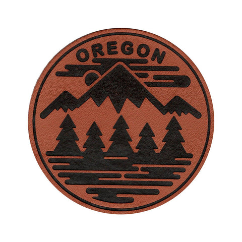 Oregon Fifty Ranges | PU Leather Patch