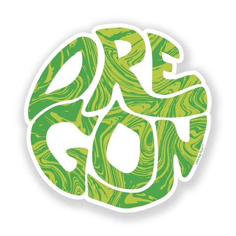 Oregon Hippy Dippy | Sticker