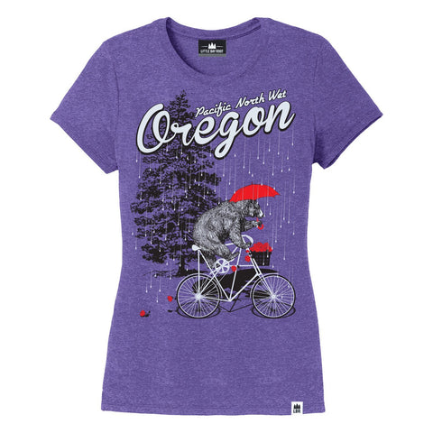 Pacific North Wet Oregon | Women's Crewneck T-Shirt