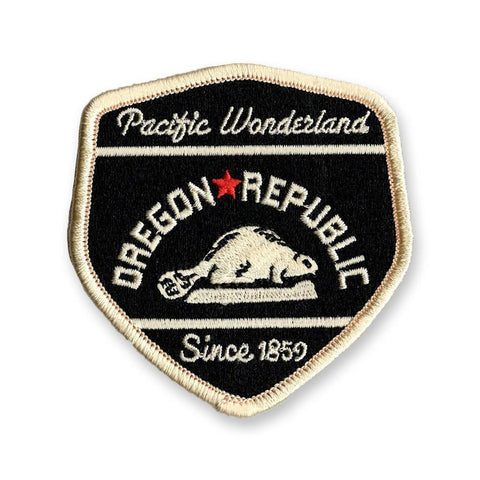 Oregon Republic Pacific Wonderland | Embroidered Patch