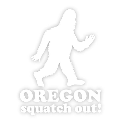 Oregon Squatch Out | Vinyl Decal