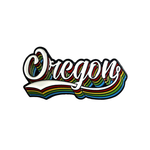 Oregon Triple Play | Enamel Lapel Pin