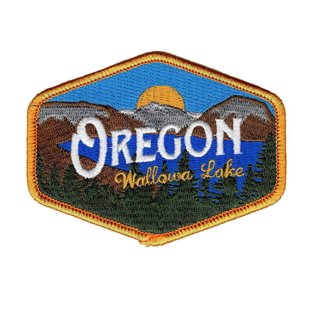 Oregon Wallowa Lake Vintage | Embroidered Patch