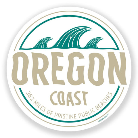 Oregon Waves | Sticker
