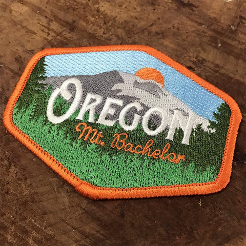 Oregon Mt. Bachelor Vintage | Embroidered Patch