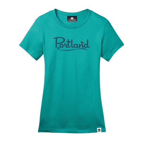 Portland Bird | Women's Crewneck T-Shirt