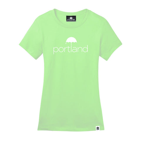 Portland Umbrella | Women's Crewneck T-Shirt
