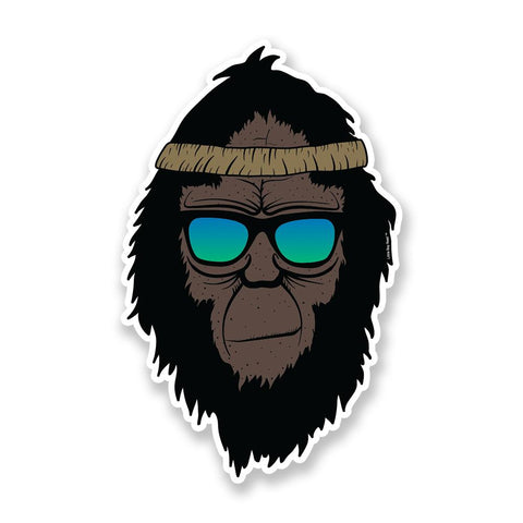 Retro Squatch | Sticker