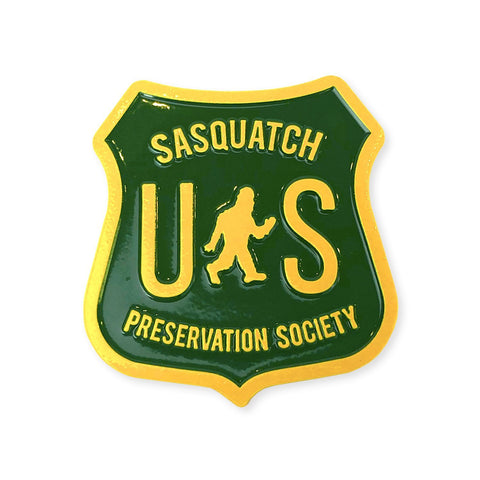 Sasquatch Preservation Society | Enamel Lapel Pin