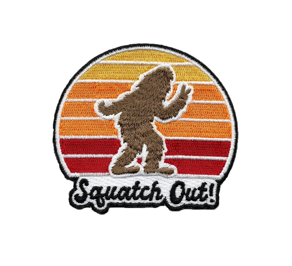 Squatch Out | Embroidered Patch