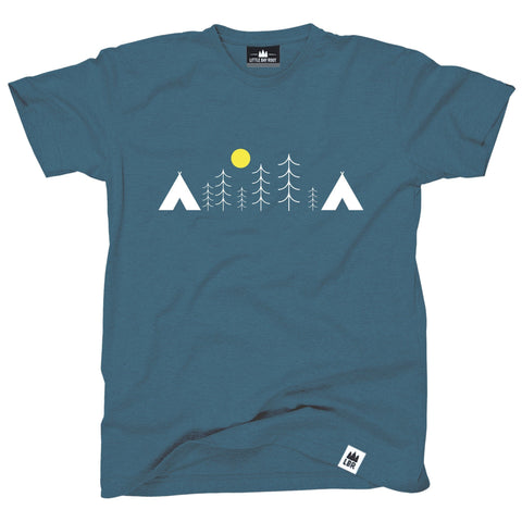 Two Tents | Adult T-Shirt