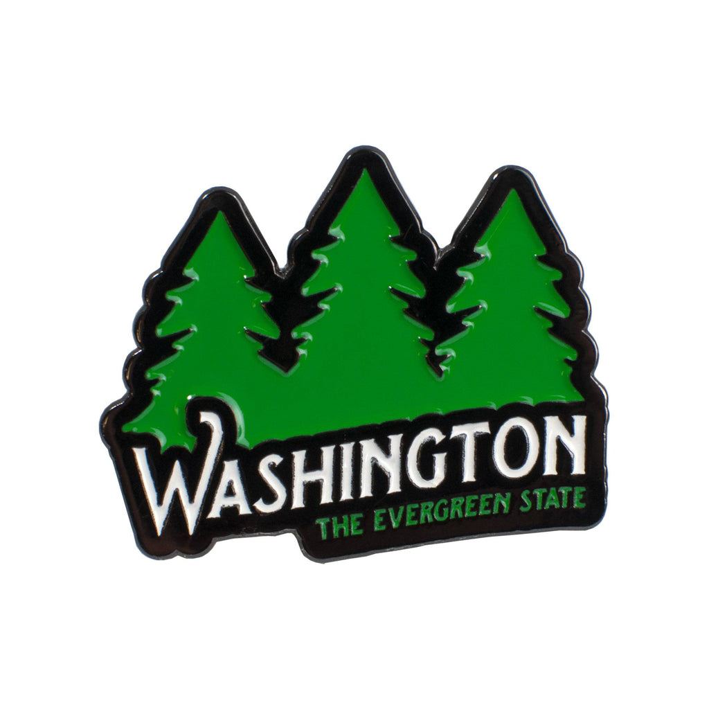 Washington: The Evergreen State | Enamel Lapel Pin