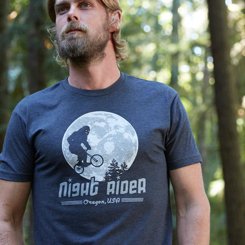 Night Rider Oregon | Adult T-Shirt