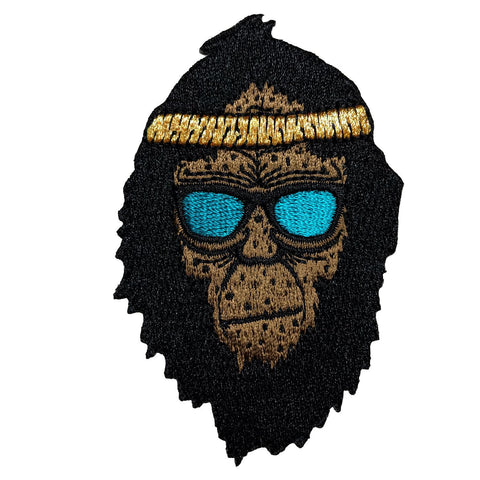 Retro Squatch | Embroidered Patch