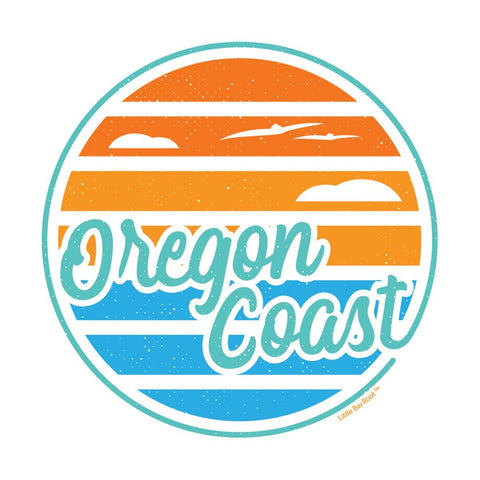 Oregon Coast Lines | Sticker