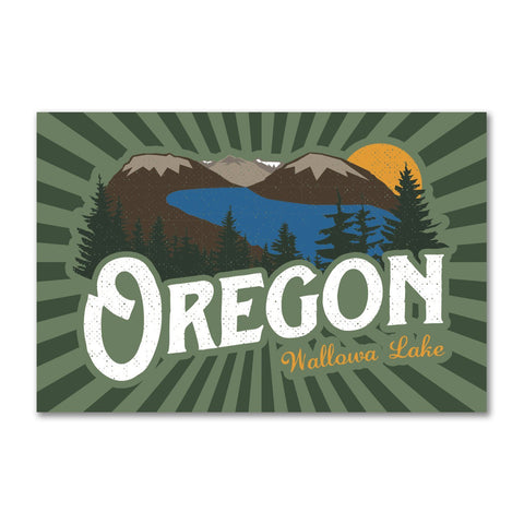 Wallowa Lake Oregon | Refrigerator Magnet