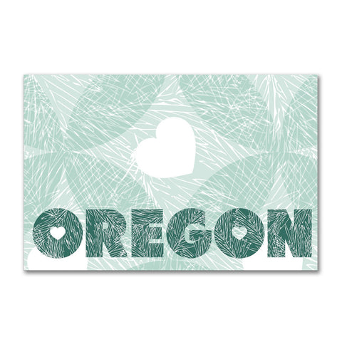 Oregon Fir | Refrigerator Magnet