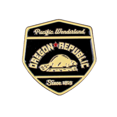 Oregon Republic | Enamel Lapel Pin