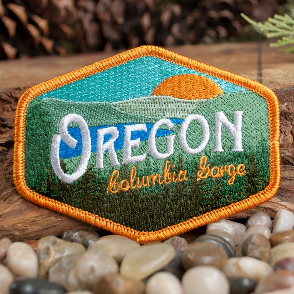 Oregon Columbia Gorge Vintage | Embroidered Patch
