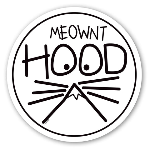 Oregon Meownt Hood | Sticker