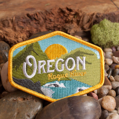 Oregon Rogue River Vintage | Embroidered Patch