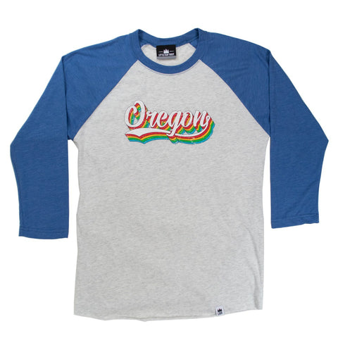 Oregon Triple Play | Unisex 3/4 Raglan