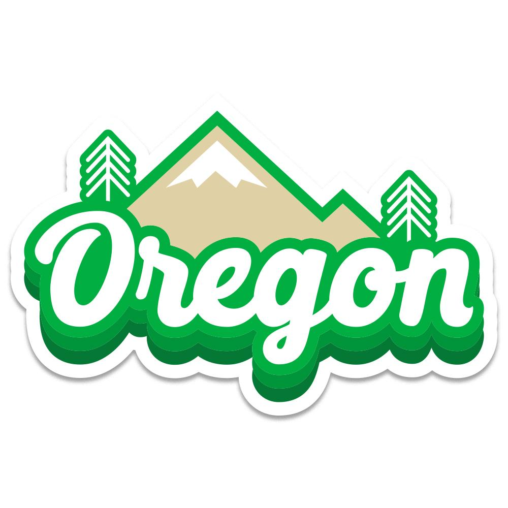 Oregon Cascades | Sticker