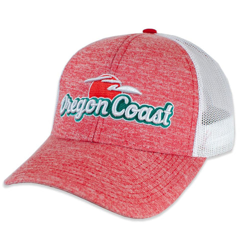 Oregon Coast Retro | Curved Bill Trucker Hat