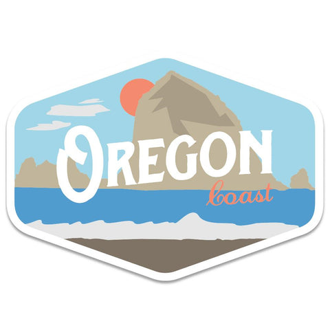 Oregon Coast Vintage | Sticker