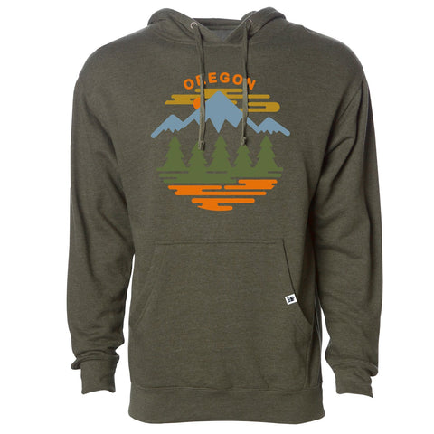 Oregon Fifty Ranges 4 Seasons | Unisex Pullover Hoodie