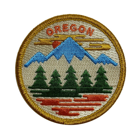 Oregon Fifty Ranges | Embroidered Patch