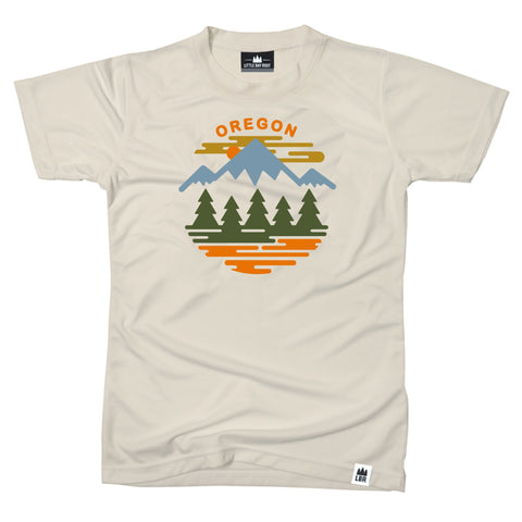 Oregon Fifty Ranges Four Seasons | Adult T-Shirt