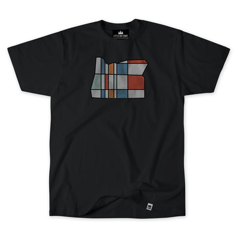 Oregon Mondrian | Adult T-Shirt
