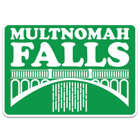 Oregon Multnomah Falls | Sticker