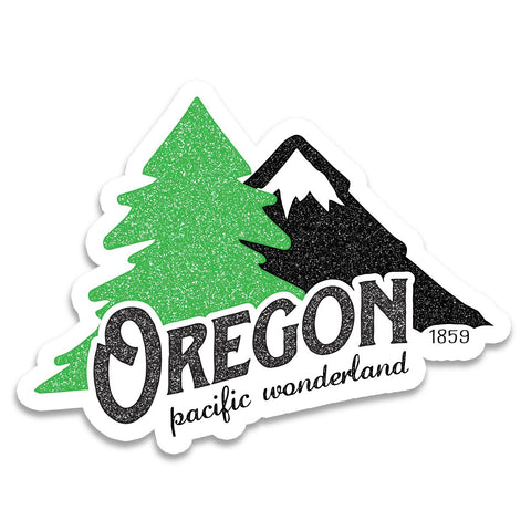 Oregon Pacific Wonderland Vintage | Sticker