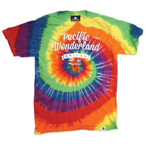 Oregon Pacific Wonderland Tie Dye | Adult T-Shirt