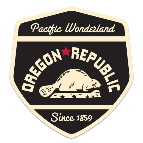 Oregon Republic | Sticker