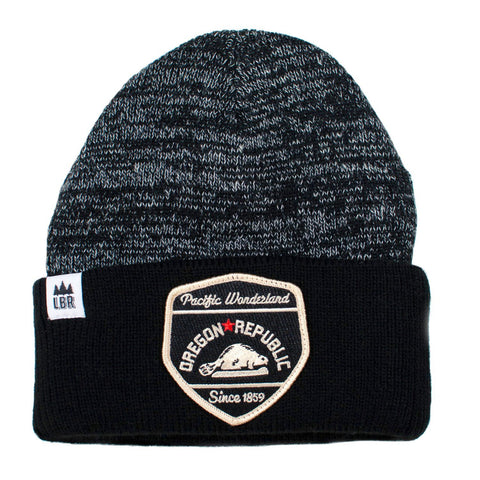 Oregon Republic | Heathered Knit Beanie